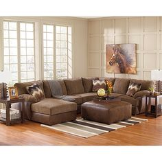 jessa place 3piece sectional has the corner on clean style and neutral plush yet supportive cushions offer both indulgu2026