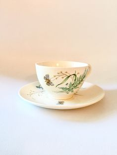 A personal favorite from my Etsy shop https://www.etsy.com/listing/498324676/johnson-brothers-vintage-cup-saucer-set