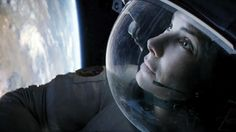 Gravity. Year: 2013. Director: Alfonso Cuarón. Cast: Sandra Bullock, George Clooney, Ed Harris. Movie won seven Oscars for directing, editing, music and visual effects among others.
