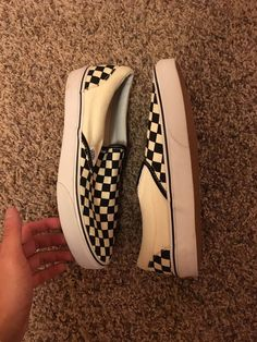 f937eb9b260a Vans Checkerboard Slip Ons Size 9 - Slip Ons for Sale - Grailed Vans  Checkerboard