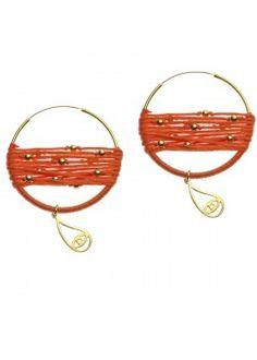 Helios collection - orange hoops