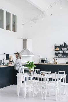 A Finnish home in a converted factory