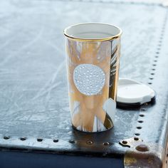 Limited Edition Gold shine Swarovski® Traveler Mug | Starbucks® Store