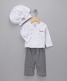 Big Dreamz Chef Layette Set
