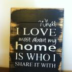 Was 39.00 Now 19.50 What I love most about my home is who I share it w... | Keep.com