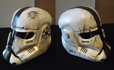 7K by WulWhite - Artisan Crafts / Costumery / Masks - Star Wars Stomr Troopewr helmet worn battle scars