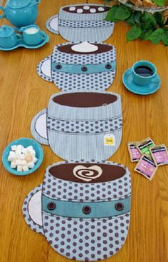 Items similar to Fill 'Er Up Coffee Table Runner Pattern to Make DIY Sewing Susie Shore Designs Placemats Tablerunner on Etsy Coffee Table Runner, Table Runner And Placemats, Table Runner Pattern, Quilted Table Runners, Fabric Placemats, Mug Rug Patterns, Quilt Patterns, Sewing Patterns, Table Topper Patterns