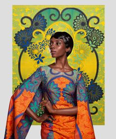 VLISCO - print colour blcoking