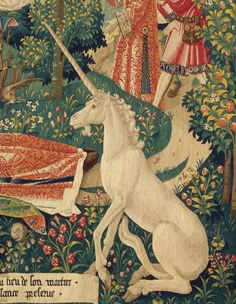 The Lady and the Unicorn tapestries detail
