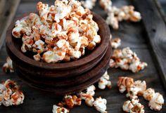 Cheerwine Caramel Popcorn