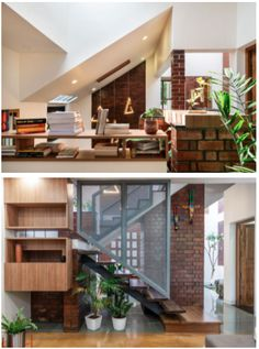 Staircase Ideas, Floor Patterns, Our World, Indoor Plants, House Plans, Stairs, Flooring, Interior Design, Furniture