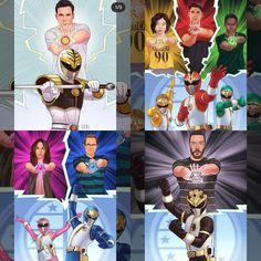Power Rangers Poster, Power Rangers Ninja Storm, Saban's Power Rangers, Pawer Rangers, Mighty Morphin Power Rangers, Kamen Rider, Dragon Ball, Fan Art, Awesome