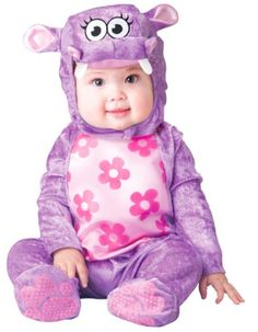10+ Cutest Halloween Costumes for Baby Girl : Hippo | www.thepinningmama.com