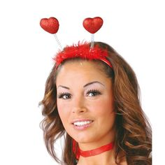 Serre –tête avec coeurs #bijouxdéguisements #accessoiresdéguisements #accessoiresphotocall