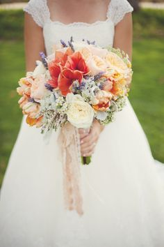 Dreamy Wildflower Bridal Bouquet