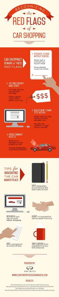 Looking for a new car? It is a good idea to visit dealership to just browse and take notes on cars. Get more tips for finding the perfect new vehicle by reading through this infographic from an Infiniti dealership in Tampa.