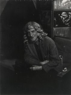 Man Ray,  Marcel Duchamp in Blond Wig, c. 1950, Collection Mr. and Mrs. James Geier, Chicago, IL