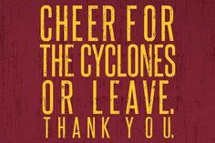 Yep! #CycloneFBScavengerHunt  E card Greek Week, Iowa State Cyclones, Sweet Quotes, College Life, Neon Signs, Cricut, Pride, Alpha Phi, College Basketball