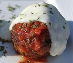 What's Cookin' Italian Style Cuisine: Italian Parmesan Style Meatloaf