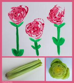 Nice project for mother's day Kindergarten Crafts, Preschool Crafts, Art For Kids, Crafts For Kids, Arts And Crafts, Teaching Art, Teaching Time, Teaching Ideas, Spring Crafts