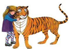 From one of my favourite books, The Tiger Who Came to Tea by Judith Kerr.