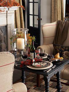 traditional luxury: Ralph Lauren\'s dining room featured in ...