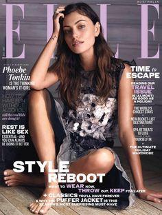 Phoebe Tonkin in the Elle Magazine 2017