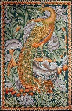 Peacock Tapestry #2