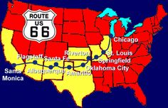"""U.S. Route 66 (multiple states).  I want to drive it all, to see all that is left of the """"Mother Road.""""  The drive-ins, the old hotels, the roadside attractions - they were all part of an era when getting there was half the fun, which appeals to me."""