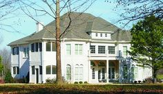 House Plan 053-02267 - Luxury Plan: 5,625 Square Feet, 7 Bedrooms, 4 Bathrooms
