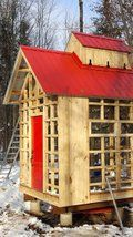 Sugar Shack: 12 Steps (with Pictures) Barn Cupola, Woodworking For Kids, Woodworking Projects, Wood Projects For Beginners, Barns Sheds, Homestead Living, Play Houses, Tree Houses, Building Design