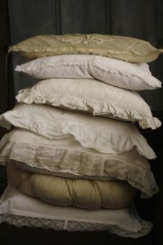 stack of pillows