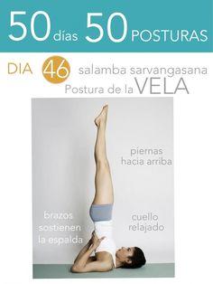 50 días 50 posturas. Día 46. Postura de la Vela