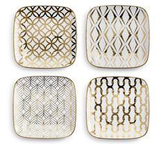 Draper Plates (set of 4) #landgwishlist