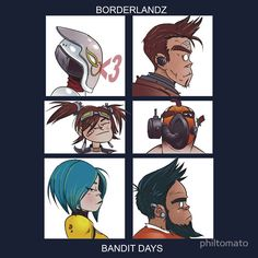 I remember the summer I got this game. Went with Gaige, and just played it all day, every day. Krieg Borderlands, Borderlands Series, Tales From The Borderlands, Borderlands Maya, Character Art, Character Design, Handsome Jack, Star Wars Art, Star Trek