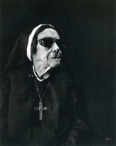 a nun with swag...love it!