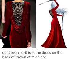 Totally *jaw drops down three million kilometres* ---- so where can I get this for prom? <<<<< or for murdering someone ---- Remember it's also the dress Celaena uses to spy-date Archer Finn in Throne Of Glass Books, Throne Of Glass Series, Throne Of Glass Fanart, Aelin Ashryver Galathynius, Crown Of Midnight, Empire Of Storms, Sarah J Maas Books, A Court Of Mist And Fury, Crescent City