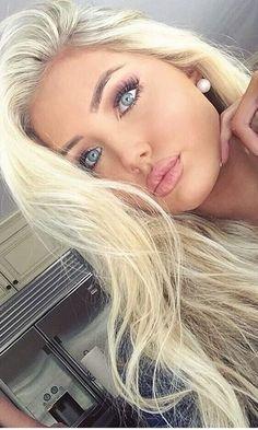 russian bleach blonde haare - All For Hair Cutes Bleach Blonde Hair, Blonde Wig, Blonde Hair Blue Eyes, Light Blonde, Makeup For Blonde Hair, Summer Blonde Hair, Blonde Hair Girl, Ash Blonde, Blonde Beauty