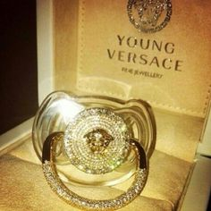 Versace, baby, and luxury image Baby Swag, Baby Outfits, Baby Bling, Camo Baby, Baby Necessities, Everything Baby, Baby Girl Fashion, Kids Fashion, Baby Design