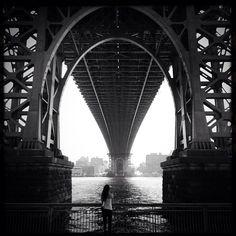 Williamsburg Bridge  – Photo by uptowneastnyc