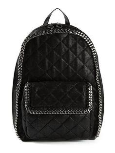 AW2015 STELLA MCCARTNEY FALABELLA BACKPACK BLACK BAG  358074-W9477-1000 #STELLAMCCARTNEY #Backpack