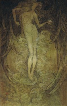 """""""Knowledge"""" new work by Rebecca Guay at the R, Michelson Galleries. September - October 2013 Featuring non-illustration work including oil paintings, monotypes, and prints."""