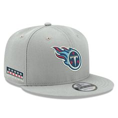 030c03a1dad Tennessee Titans New Era Crafted in the USA Adjustable Hat Gray. NFL Caps    Hats