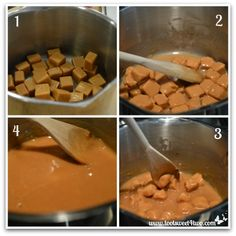 Melting caramels for Christmas Caramel Apples - Toot Sweet 4 Two Carmel Squares, How To Melt Caramel, Apple Dip, Food Advertising, Caramels, Cupcake Wrappers, Home Chef, Toot, Caramel Apples