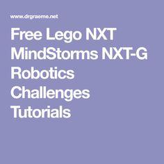 Free Lego NXT MindStorms NXT-G Robotics Challenges Tutorials