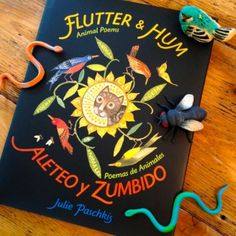 friday feast: Chatting with Julie Paschkis about Flutter and Hum/Aleteo y Zumbido (+ a giveaway!) | Jama's Alphabet Soup