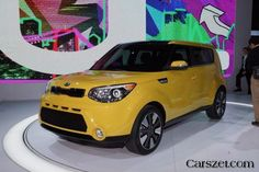 2018-2019 Kia Soul second generation is represented in New York City