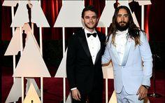 Jared Leto & Zedd at the 87th Annual Academy Awards #Oscars2015 (Photos by Michael Buckner)
