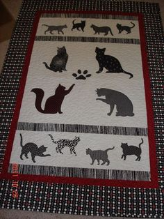 Another cool cat quilt!