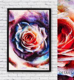 "New design for your interior!  ""Artistic - XXV - Abstract Rose""  ► https://www.curioos.com/tmarchev #sale #promo #curioos #prints #digitalart #design #modern #abstract #TMarchev #modernart #Aluminum #Glass #Canvas #wallart #artdeco #findyourway #homedecor"